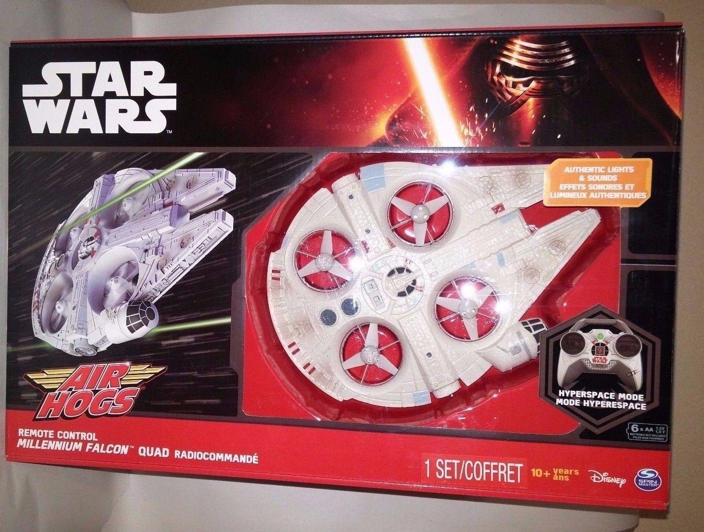 Star wars force weckt die millennium - falken - rc - drohne luft schweine fernbedienung