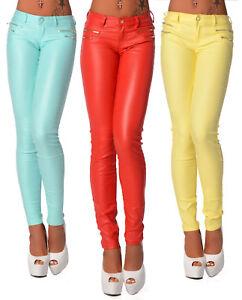 70a601e026e943 Das Bild wird geladen Sexy-Damen-Enge-Jeans-Hose-Sommer-Leggings-Huefthose-
