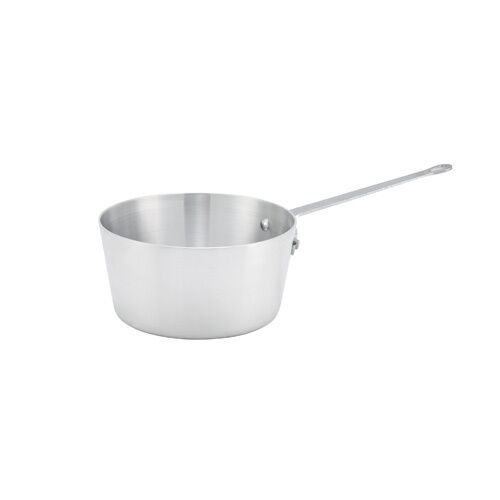 Winco ASP-1 1-Quart 2.7-Inch High 5.8-Inch Diameter Aluminum Sauce Pan with Hel