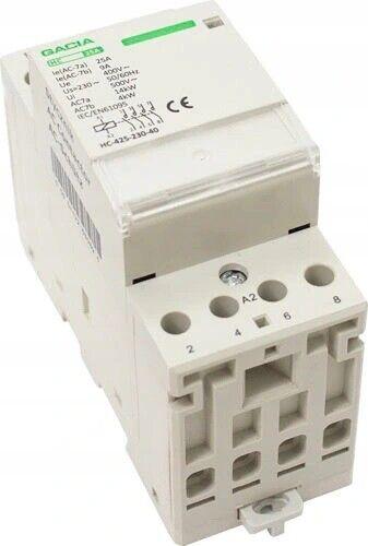 Modular Leistungsschütz Installationsschütz 20,25,40,63 A 230//400V AC 1-3 Module