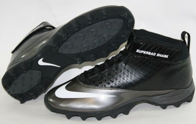 Black White Football Cleats Shoes
