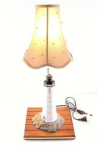 Collectible-Custom-Vintage-Handmade-Light-House-2-Way-Lamp