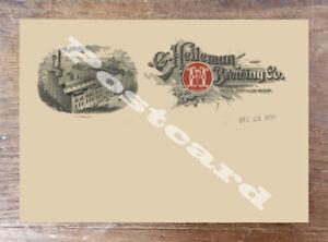 Historic G. Heileman Brewing Co. Wisconsin Postcard 2