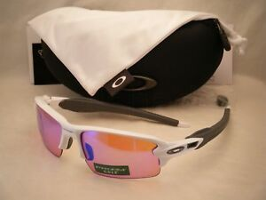 973633fd7c Oakley Flak Jacket 2.0 Polished White w Prizm Golf Lens (oo9295-06 ...