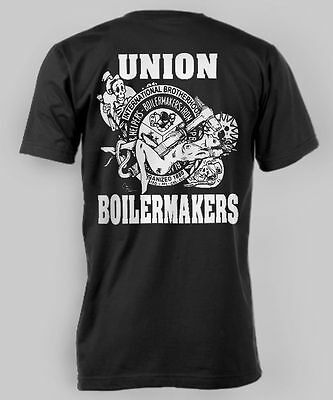 Boilermakers T shirt Union supporter Boilermaker Brotherhood Tig Torch Snake