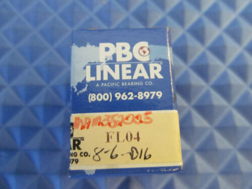NOS PBC Linear Bearing FL04 Buy it Now = 2 pcs Free Shipping