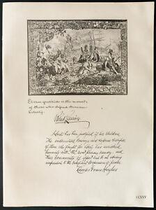 1926-Litografia-citacion-Mr-Robert-Lansing-MR-Charles-Evans-Hughes