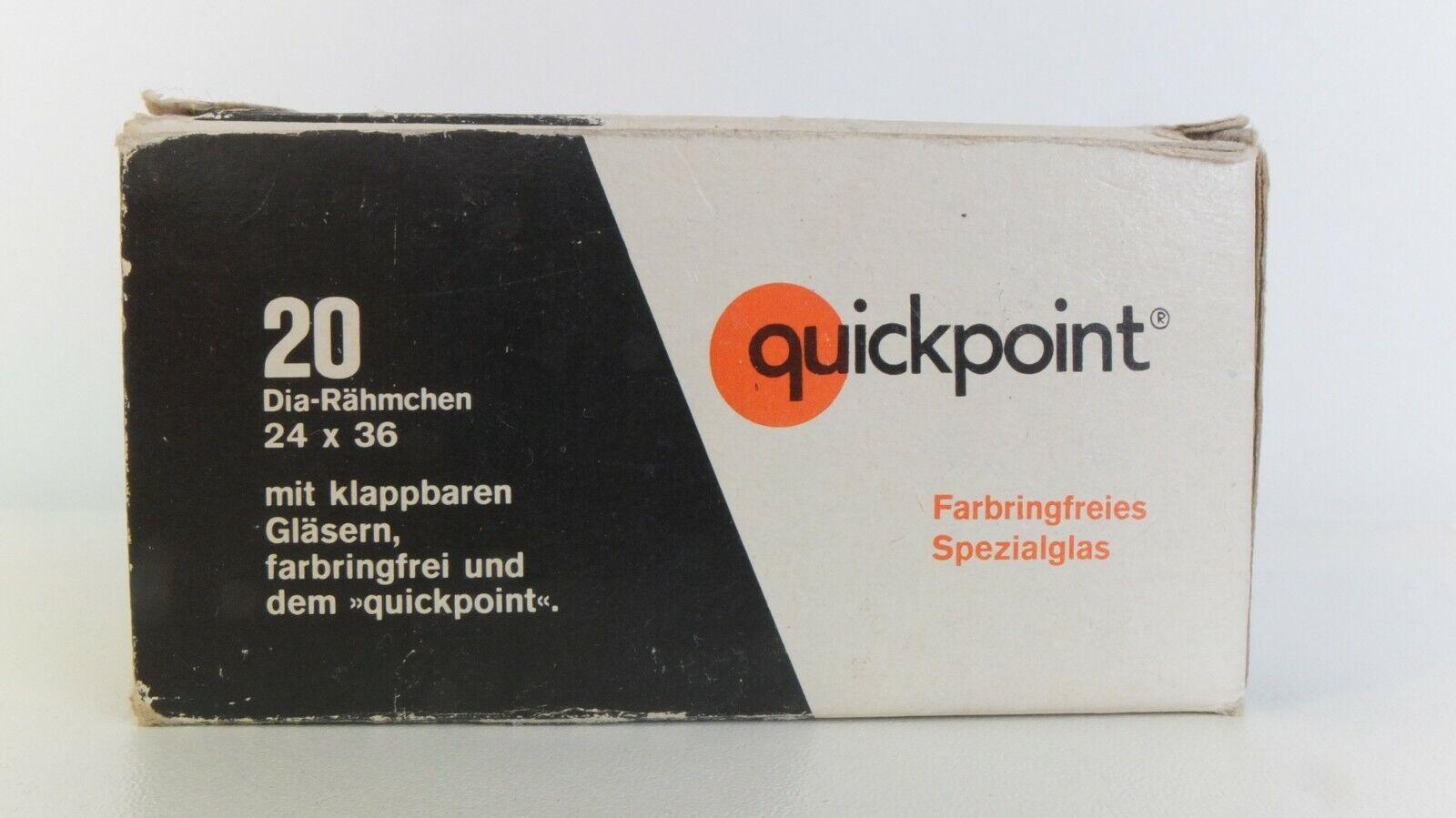 Quickpoint 20 slide mounts 24 x 36 New/unused in original box.