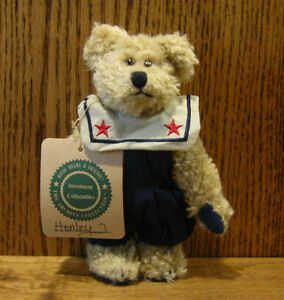"""NEW//Tag From Retail Store Boyds Plush #919801 CARLY BEARSWORTH 6/"""" Bear"""