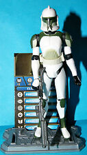 STAR WARS 2010 CLONE WARS ANTI-HAILFIRE DROID CLONE TROOPER LOOSE COMPLETE