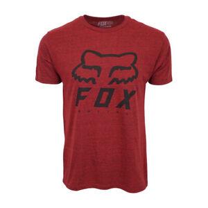 FOX-RACING-MENS-PREMIUM-HERITAGE-LOGO-T-SHIRT-BLAZE-POLYBLEND-TEE