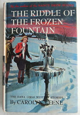 Dana Girls #26 The Riddle of the Frozen Fountain Nancy Drew Author Carolyn Keene