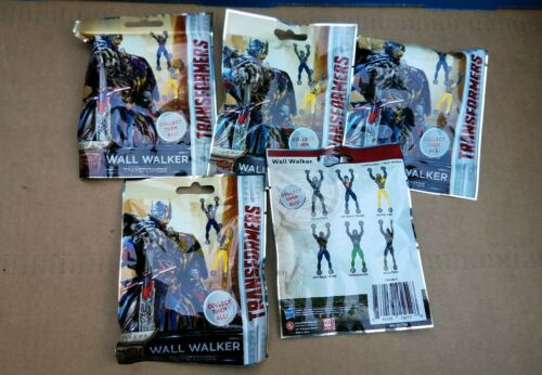 5 Transformers Wall Walkers Blind Bags  New RARE