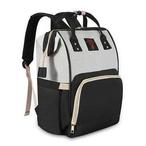 Diaper Bag Backpack Large - Multi-Function Waterproof Baby Travel Bags