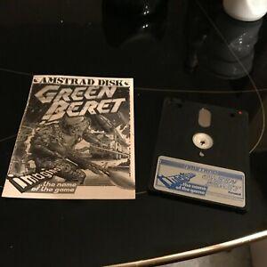 Green Beret jeu Amstrad cpc 6128 464 disk non testé
