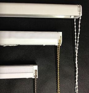 280cm Cassette Roman Blind Complete Diy Kit Chain Heavy