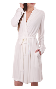 8991e906f0 Image is loading UGG-ANTIQUE-WHITE-SOFT-LIGHTWEIGHT-JERSEY-ROBE-SIZE-