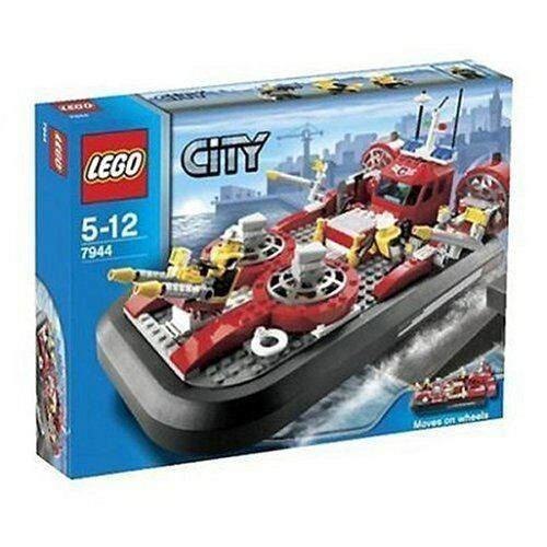 Lego Town Fire 7944 Fire Hovercraft New Sealed