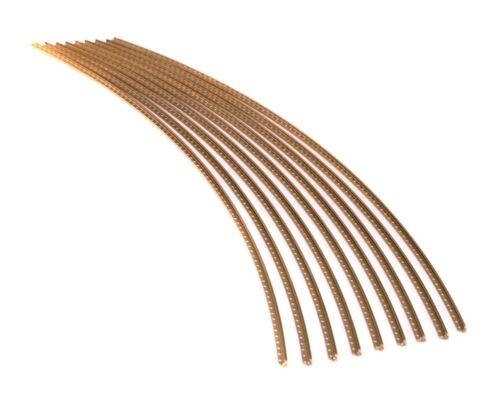 Premium Jescar WIDE-MEDIUM Gold EVO Fret Wire//Frets 47104 EVO 6ft