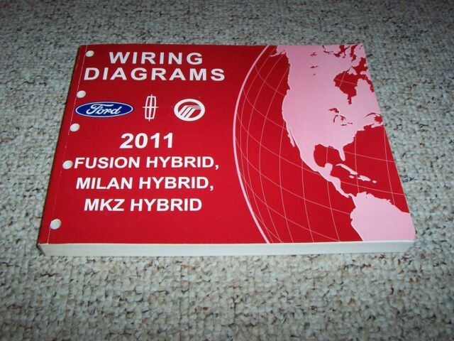 2011 Ford Fusion Hybrid Electrical Wiring Diagram Manual 3
