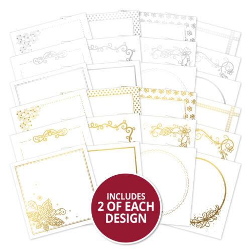 Wishes On Wings Luxuriös Folien Karte Papier Hunkydory Stilvoller Silhouetten