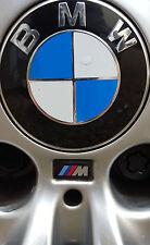 5 x M Tec Alloy Wheel sticker badge Fits BMW M3 M5 M6 E36 1 3 5 6 7 8 Series