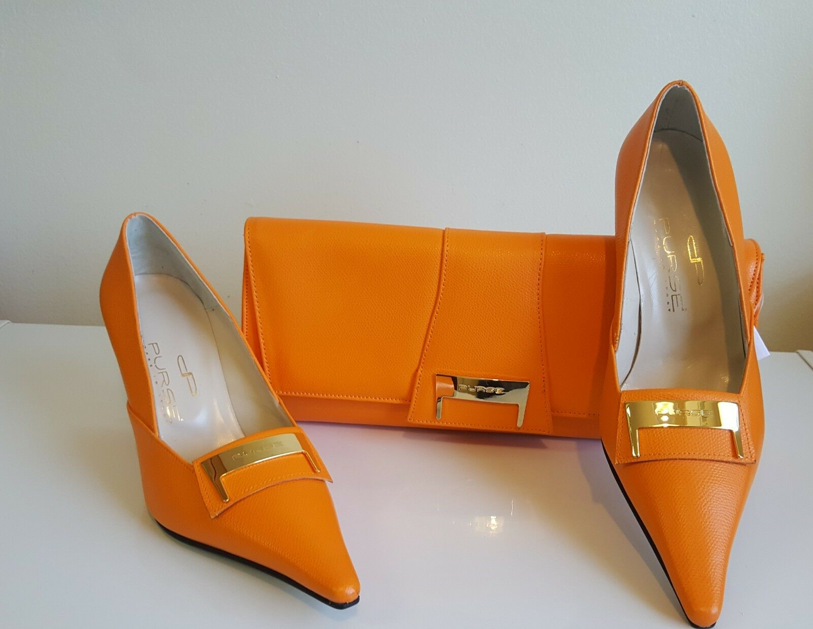donna Leather scarpe  with Purse  prezzo ragionevole