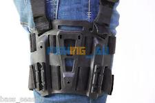 Tactical Holster Platform Tactical Drop Leg Thigh Rig For Gun Duty holsters