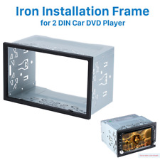Silver Double 2 Din Car Dvd Stereo Radio Dash Kit Installation Mounting Trim Fits Plymouth Breeze