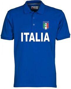 best service ed387 93e89 Details about Polo Italy France 2016 Sweatshirt T-Shirt Football Shirt  Jersey European national- show original title