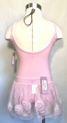 Basic Moves Girls Embroid//Sequin Mesh Ballet Skirt Size 8-10 NWT BLACK