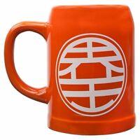 Dragon Ball Z King Kai Symbol Ceramic Stein Officially Licensed Glassware on sale