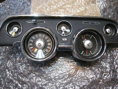1968 Ford Mustang Instrument Gauge Cluster Reconditioned ...