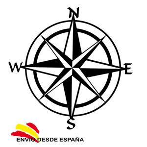 PEGATINA-ROSA-DE-LOS-VIENTOS-BRUJULA-VINILO-ADHESIVO-STICKER