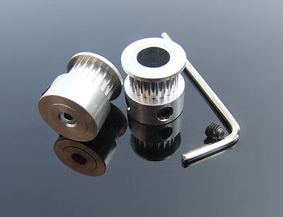 4//5//6//6.35//8mm Bore MXL20 3D Printer Motor Synchronous Timing Belt Pulley Wheel