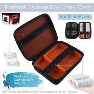 Für Nintendo SNES Mini Konsole Etui Tasche Reiseetui Box Schutzhülle Hard Case