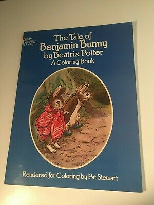 The Tale of Benjamin Bunny: A Coloring Book by Beatrix ...