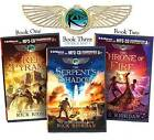 Rick Riordan's the Kane Chronicles (Bundle): The Red Pyramid, the Throne of Fire, the Serpent's Shadow by Rick Riordan (CD-Audio, 2013)