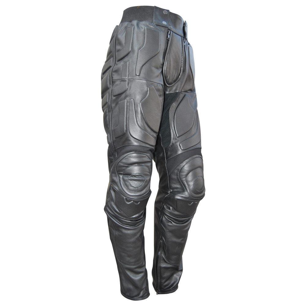 Batman The Dark Knight Rises Motorcycle Leder Trouser/ Batman v Bane Faux Pant