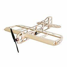 GEEBEE Balsa Wood Laser Cut 600mm Wingspan RC Airplane Building Kit [NEW]