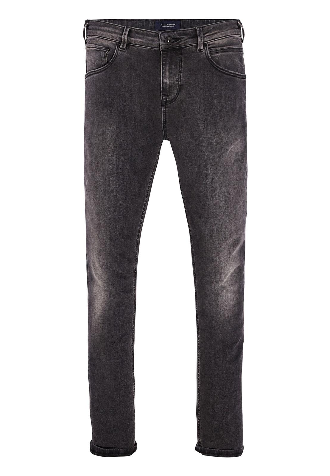 Scotch & Soda Jeans Men Dart 141171 Dark Grey 1809