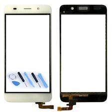 Touchscreen Display Glas für Reparatur Huawei Y6 Ersatz Flexkabel Weiß Reparatur