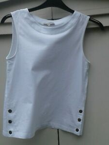 WHITE-HOBBS-VEST-TOP-SIZE-SMALL