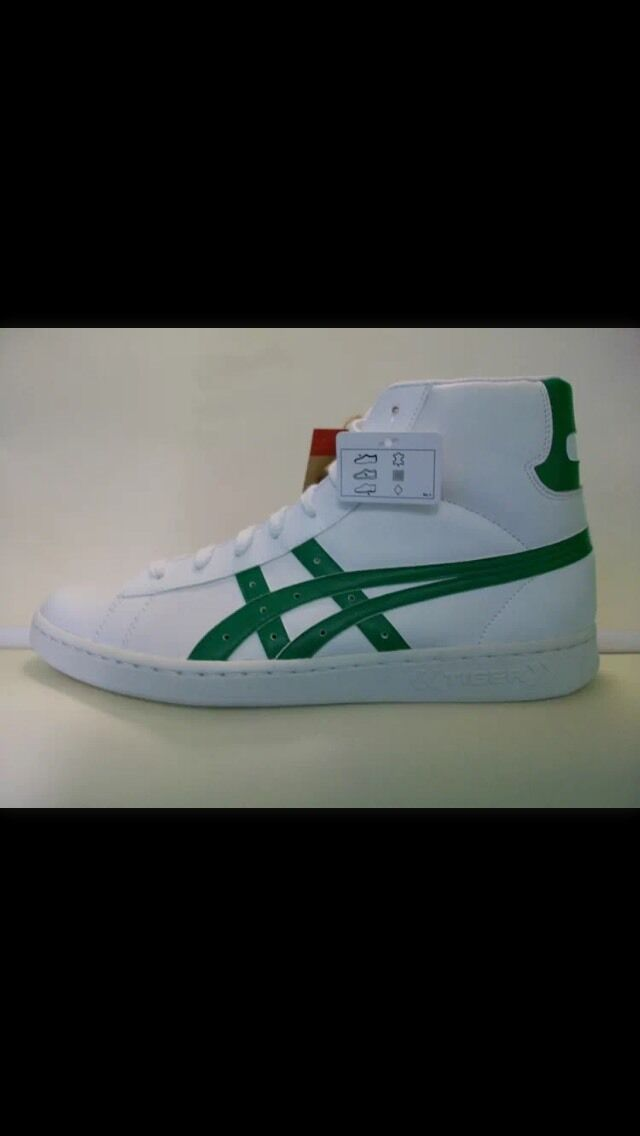 Rare White Leather Onitsuka Tiger Asics trainers in UK Comfortable Cheap women's shoes women's shoes