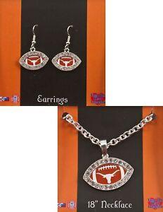 Longhorn Necklace Earring Set