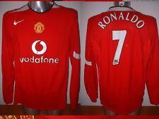 Manchester United RONALDO LS Jersey Shirt Adult L Soccer Football Nike Portugal