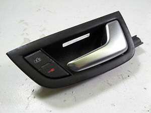 04 10 Audi A8 D3 Front Right Inner Door Handle Lock Button 4e0827020 05 06 07 Ebay