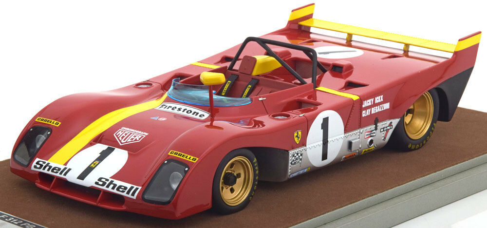 más descuento Tecnomodel Ferrari 312 pb ganador 1000 km Monza Monza Monza 1972 § Regazzoni  1 1 18 Nuevo  Obtén lo ultimo
