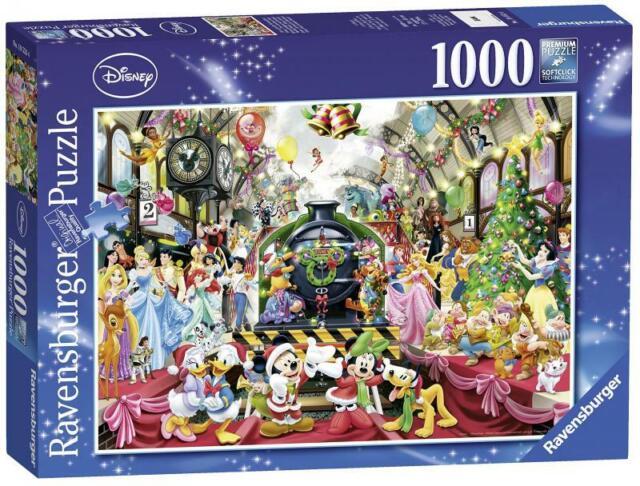 Ravensburger Puzzle - Disney Christmas All Abroad - 1000 pc Jigsaw - 19553