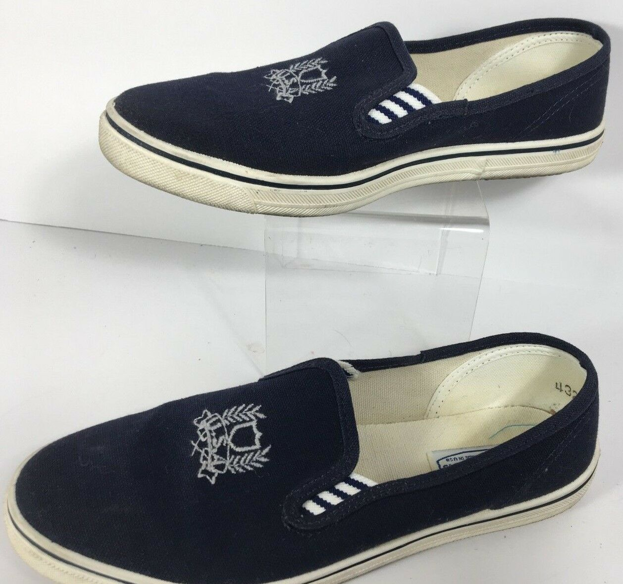 Vintage Women's US Sports Fashion Boat shoes Loafers bluee Size 6 M